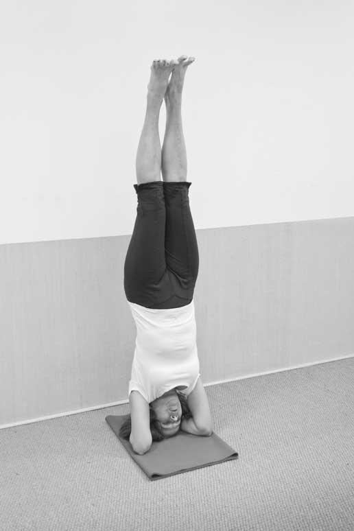 Yogalehrerin Michaela Schäfer